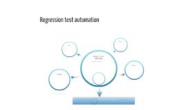 Regression Test Automation