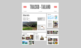 THAJSKO - TAJLAND