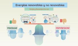 Ventajas y desventajas de las energías renovables y no renov
