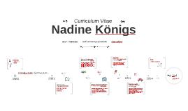 Timeline Prezumé von Nadine Königs