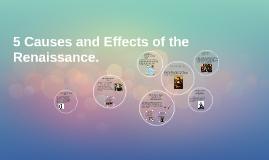 Effect of publication to renaissance culture