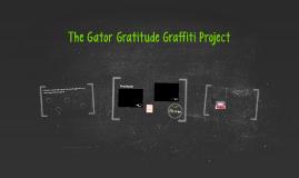 gator gratitude graffiti