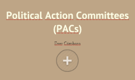 Political Action Committee (PACs)