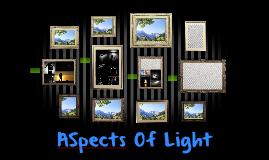 ASpects Of Light
