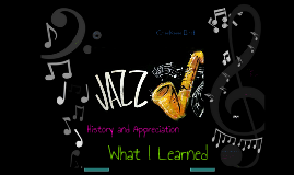 Jazz History and Appreciation: What I Learned