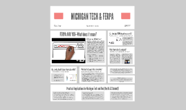 MICHIGAN TECH & FERPA