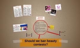 Should we ban beauty contests?