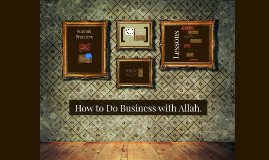 How to Do Business with Allah.