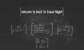 Copy of Welcome to Back to School Night!
