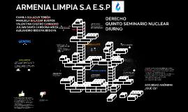 ARMENIA LIMPIA S.A E.S.P