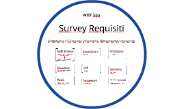Survey Requisiti