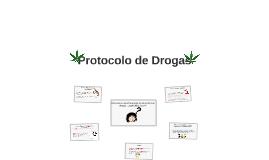 Protocolo de Drogas