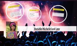 Jhoselin Michelle Leal Leor