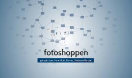 fotoshoppen