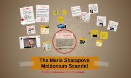 The Maria Sharapova Meldonium Scandal