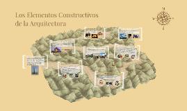 Los Elementos Constructivos de la Arquitectura