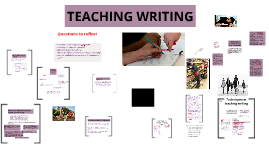 Copy of TEACHING WRITING