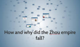 how and why did the Zhou empire fall