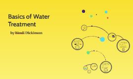 Basics of Water Treatment