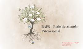 RAPS - Rede de Atenção