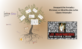Copy of Desaparición forzada y personas no identificadas en los Llanos