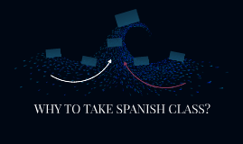 WHY TO TAKE SPANISH CLASS?