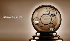 Copy of Avogadro's Law