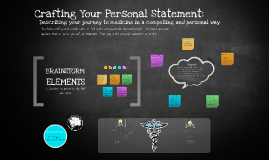 Crafting Your Personal Statement: