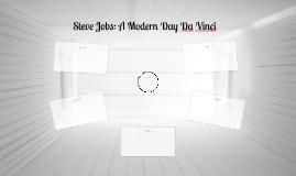 Steve Jobs: A Modern Day Da Vinci