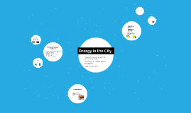 Energy in the City