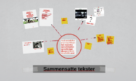 Sammensatte tekster: Analyse