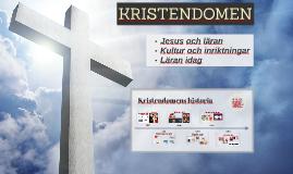 Kristendomens grundare och spridning