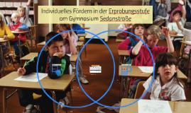 Individuelles Fördern in der Erprobungsstufe am Gymnasium Sedanstraße