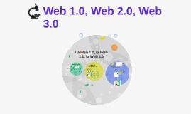 Web 1.0, Web 2.0, Web 3.0