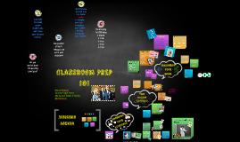 Classroom Prep 101