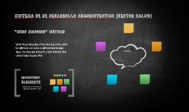 sISTEMA DE DE DESARROLLO ADMINISTRATIVO (SECTOR SALUD)