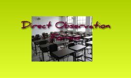 Direct Observation Forms