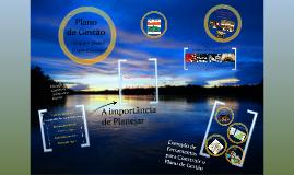 Plano de Gestão 2012