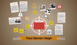 Paul Steven Haigh