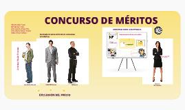 CONCURSO DE MÉRITOS EN COLOMBIA