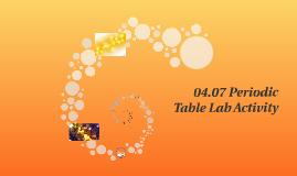 0407 periodic table lab activity by sephora laurore on prezi - 04 07 Periodic Table Lab Activity