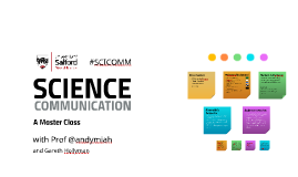 Science Communication: A Master Class
