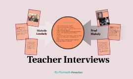 Interviews: Blakeley&Lovelady
