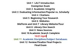 LALT Unit 11