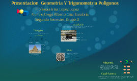 Copy of Presentacion  Geometria Y Trigonometria