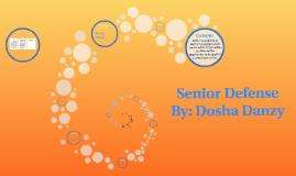 Graduation Portfolio Defense