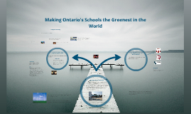 Making Ontario's Schools the Greenest in the World