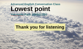 lowest point