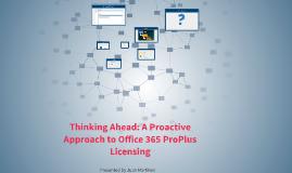 Office Licensing Presentation