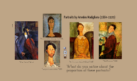 Modigliani Self-Portraits